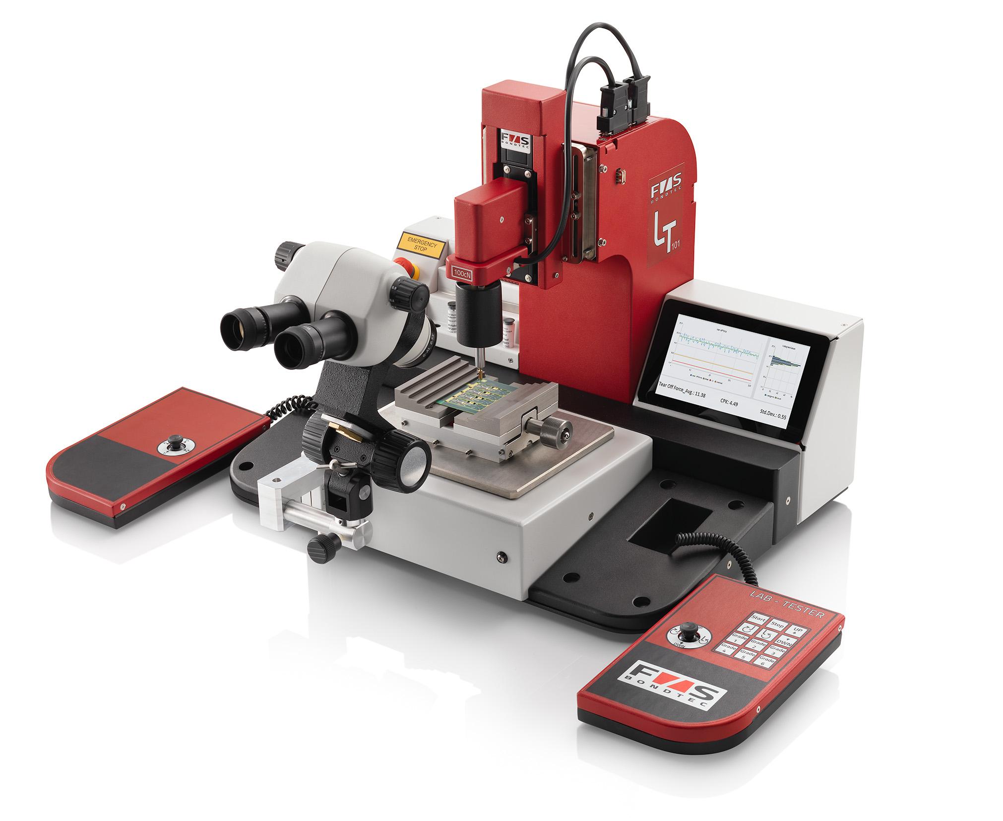 Austriacka firma F & S Bondtec wprowadza innowacje na rynek testowania połączeń drutowych.