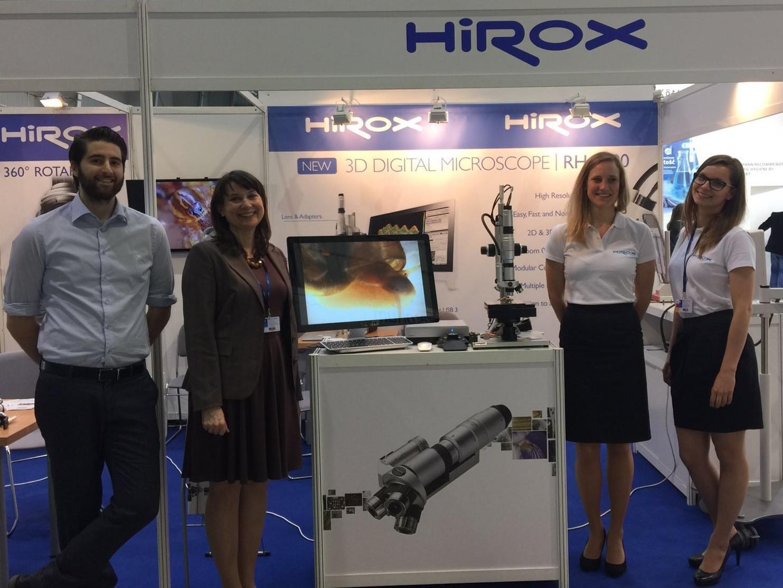 Duże zainteresowanie mikroskopami firmy Hirox podczas targów Eurolab